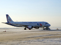 Ural Airlines carried over 1.6 million passengers