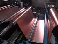 KMEZ produced the first samples of electrolytic copper foil