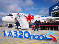 Ural Airlines takes the lead in average daily flights on the Airbus A320neo in 2019
