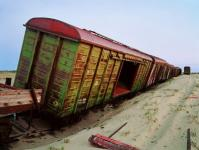 Unmarketable railcar from the Urals