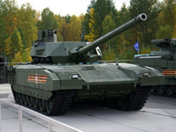 Uralvagonzavod can supply more than 2,000 Armata tanks to the Ministry of Defense of the Russian Federation